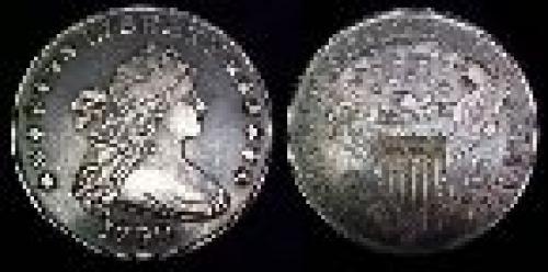 1 dollar; Year: 1798-1804; Draped Bust