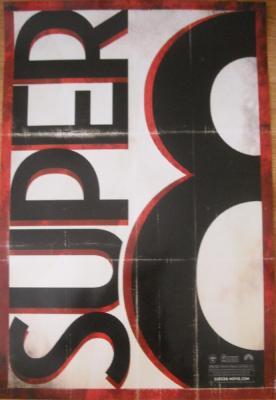 Super 8 mini limited edition movie poster (J.J. Abrams Elle Fanning Steven Spielberg)