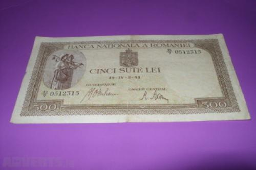Romania 500 lei-1941