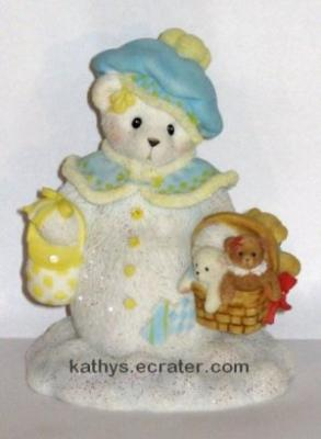 NEW Enesco Cherished Teddies 2005 Georgina Bear Animal Figurine