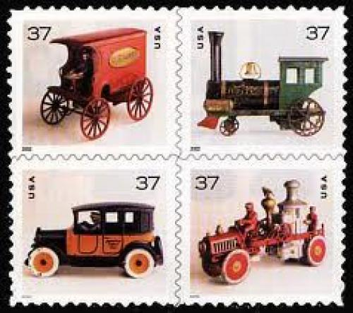 Stamps; Trains on US Stamps