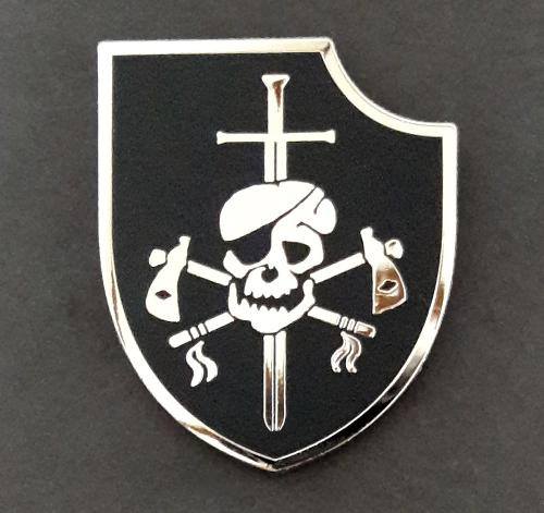 US Navy SEAL Team 6 six - DEVGRU - Silver Squadron Metal badge pin