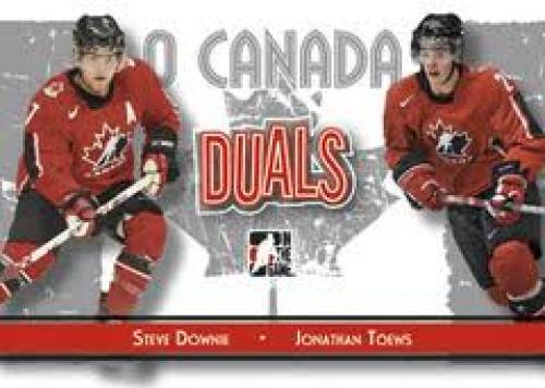 Steve Downe and Jonathan Towes Hockey Card
