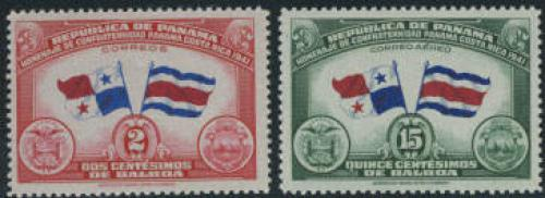 Costa Rica 2v; Year: 1942