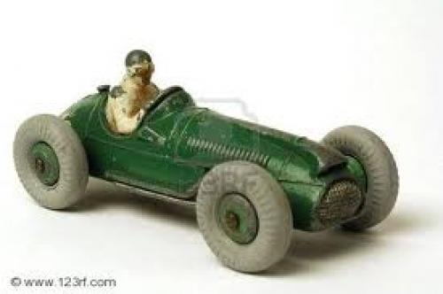 Miniature Vintage Race Car