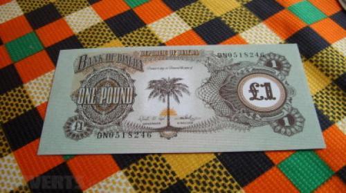 Biafra 1 Pound-1969
