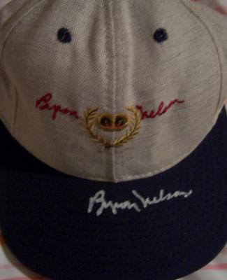 Byron Nelson autographed personal model golf cap or hat