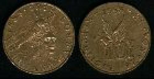 10 francs; Year: 1988;(km 965); Roland Garros
