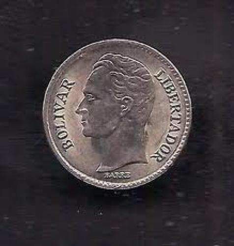 Coins; Venezuela 25 Centimos 1978 Coin