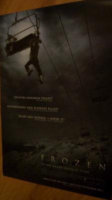 Frozen 17x24 movie DVD release promo poster