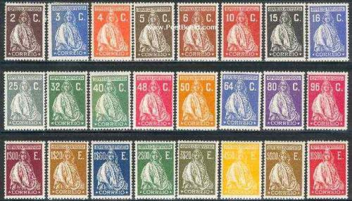 Definitives 24v; Year Issue: 1926