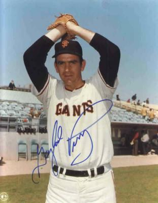 Gaylord Perry autographed San Francisco Giants 8x10 photo