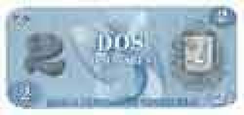 2 Bolivares; Older banknotes