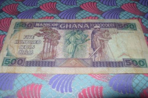 Ghana 500 cedis-1992