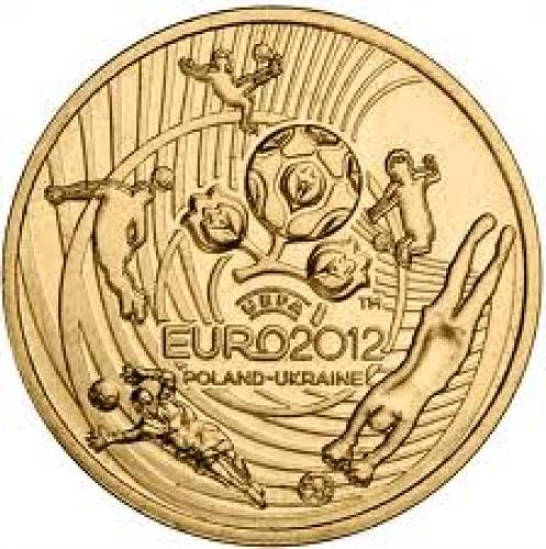 Coins; 2 zloty UEFA EURO 2012 - 2012 - Series: Commemorative 2 zloty