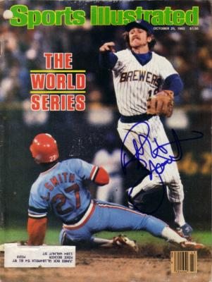 Robin Yount autographed Milwaukee Brewers 1982 Sports Illustrated