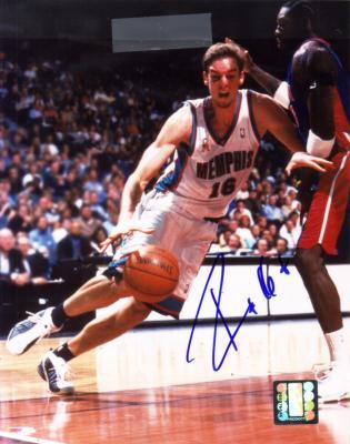 Pau Gasol autographed 8x10 Memphis Grizzlies photo