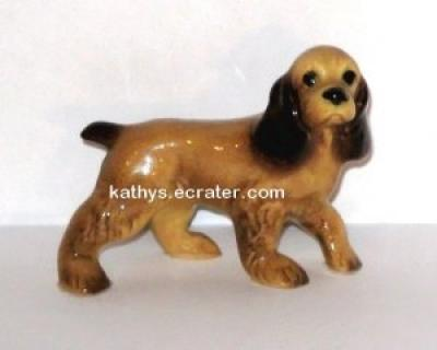 Hagen Renaker Cocker Spaniel Dog #028 Animal Figurine