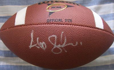 Alex Smith autographed Wilson NCAA football