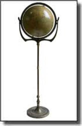 Antiques; A splendid 1930 Art Nouveau Globe