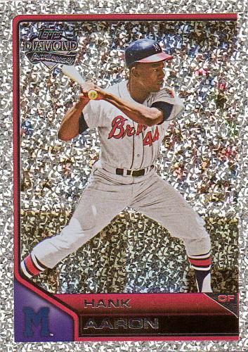 2011 Topps Lineage Diamond Anniversary Refractors #108 ~ Hank Aaron