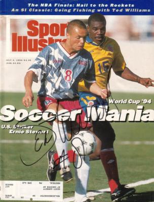 Ernie Stewart autographed 1994 U.S. National Team Sports Illustrated