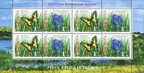 Endangered Plants and Animals of Lithuania.