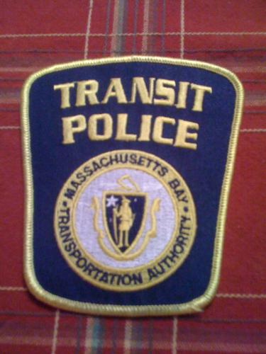 Massachusetts Transit Police patch, MA