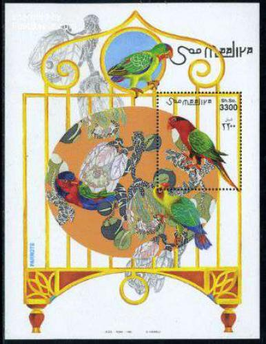 Parrots s/s; Year: 1999