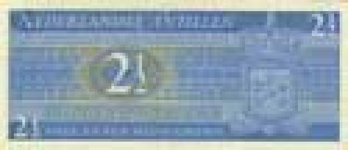 2 1/2 Gulden; Older banknotes
