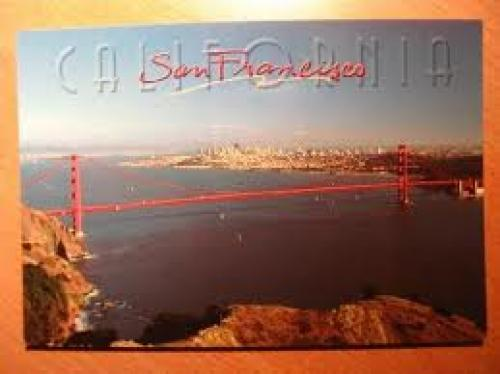 The postcard from SF, USA