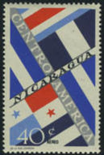 Central American states 1v; Year: 1964