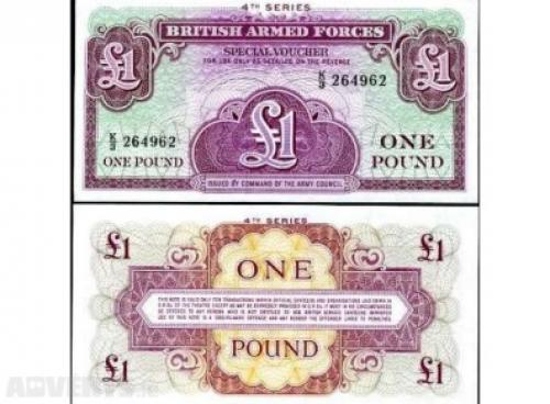 1 pound British Army 1948 4th