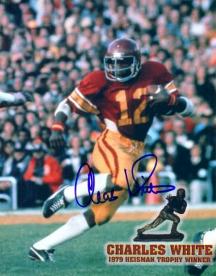 Charles White autographed USC Trojans 8x10 photo