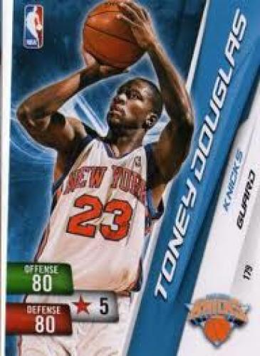 Basketball Card; NEW YORK KNICKS - Toney Douglas #179