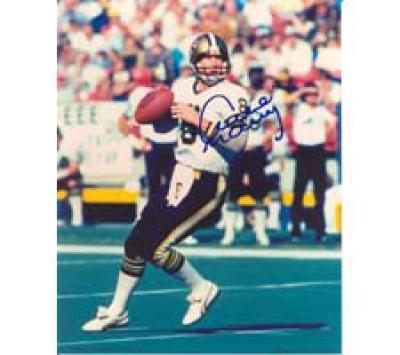 Archie Manning autographed 8x10 New Orleans Saints photo