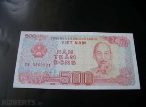 500 DONG - VIETNAM-1988