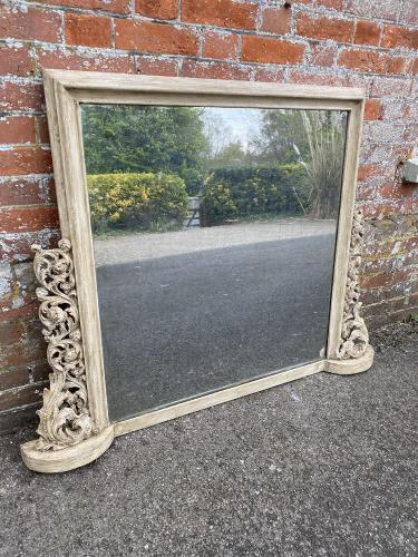 Antique French Mirrors, Large Antique Ornate Mirror : Cleall Antiques, West Sussex, UK