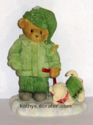 NEW Enesco Cherished Teddies 2002 Louise Bear Animal Figurine