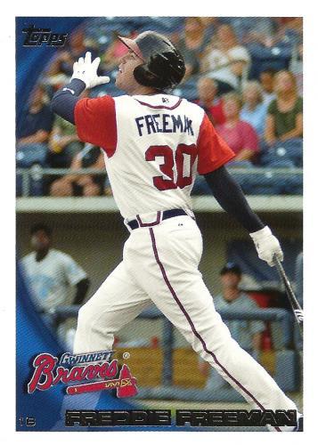 2010 Topps Pro Debut #243 ~ Freddie Freeman