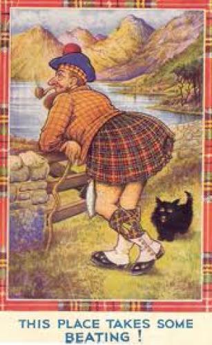 SCOTLAND POSTCARD 1950s