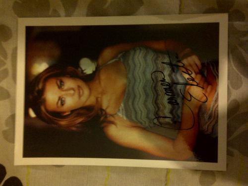 Carmen Electra Autographed Photo