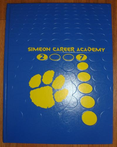 Derrick Rose 2007 High School Yearbook Simeon Career Academy authentic original