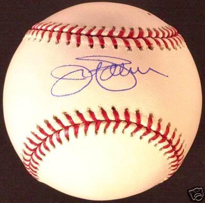 Jim Palmer autographed MLB baseball