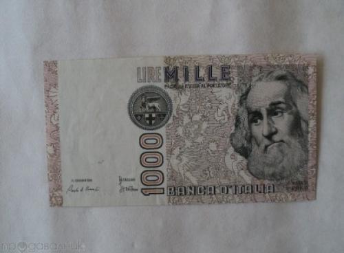 Italy-1000 Liri- 1982