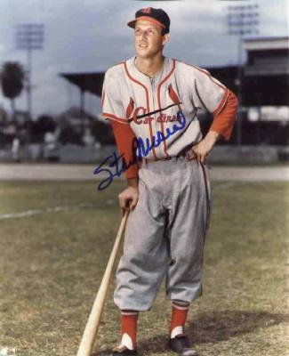 Stan Musial autographed St. Louis Cardinals 8x10 photo