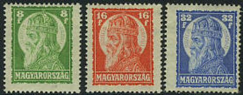 Holy Stephan 3v; Year: 1928