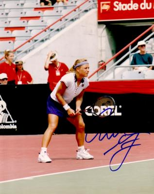 Amanda Coetzer autographed 8x10 tennis photo