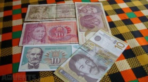Lot banknote Yugoslavia-5x10-1978/90/94/96/2006