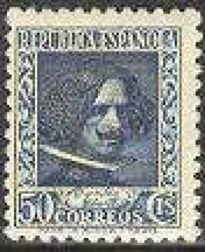 Velazques v1v; Year Issue: 1936; Spain Stamps